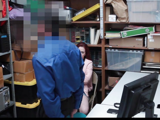 Shoplyfter menacingfearsome Legal Age Teenager Bare Down & Screwed by Creepy Boy