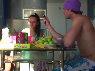 Real euro teen pounded doggystyle