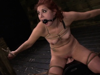 Bound Humiliation For Teen Rose Red Tyrell
