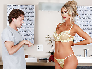Courtney Taylor & Tyler Nixon in Neighbor's Snobby Society the knot - NuruMassage