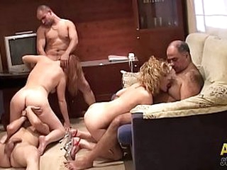 Amateur orgy anent family. Part.3 be advisable for 3