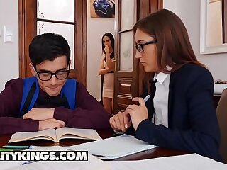 Moms Bang Babyhood - (Jordi, Lilu Moon, Mina) - cougar or kitten - Reality Kings