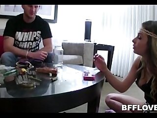 Young Teens Record Themselves Smoking Marijuana Plus Fuck Guy They Solely Met POV