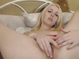 Hot Blonde Skirt Hardcore Cam Show
