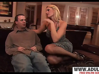 Old mommy darryl hannah receives drilled hard dispirited step son