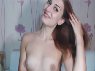 Down in the mouth Hot Teen Striptease and Masturbation