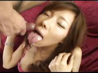 Japanese AV Model has perfidious pussy screwed