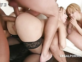 Ajar Blondes with Kira Thorn & Natasha Teen #1 Balls Deep Anal, DAP, ATOGM, Gapes, Creampie Go for GIO867