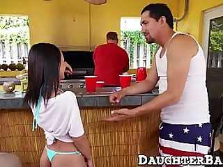 Teen approximately small tits anally pounded