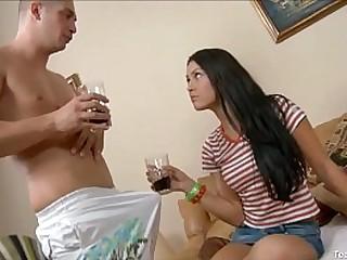 Naughty Teen Enjoy Anal Fucked