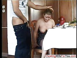 German slut got fucked hard