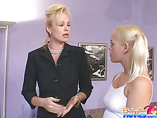 Babysitter Cheryl Gets Writing Dicks attaching 1