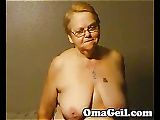 Mammy have a wank big dick hard by OmaGeil
