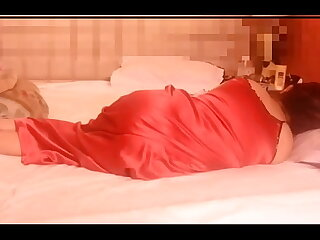 Indian Couple passionately fondling each other, and sucking each other by oral sex before trying Anal 1st Time. Part -1