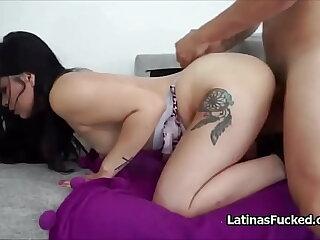 Latina newbie Phosphorescence best-liked up added to fucked